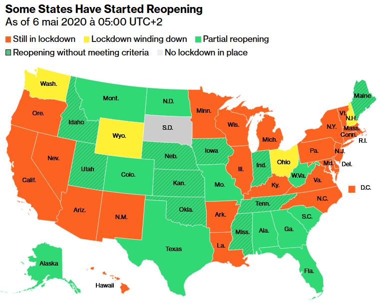 Coronavirus Crisis and Reopening the U.S. Economy