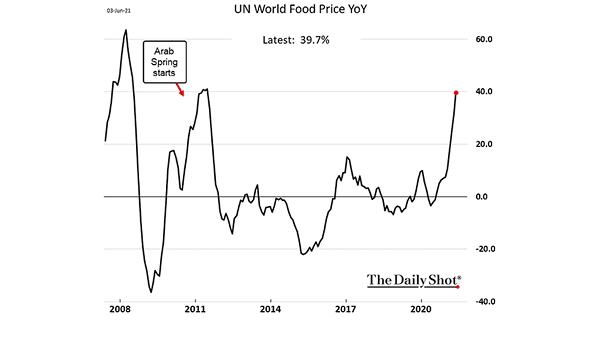 UN World Food Price YoY